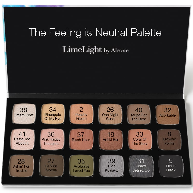 LimeLight Eyeshadow Palette