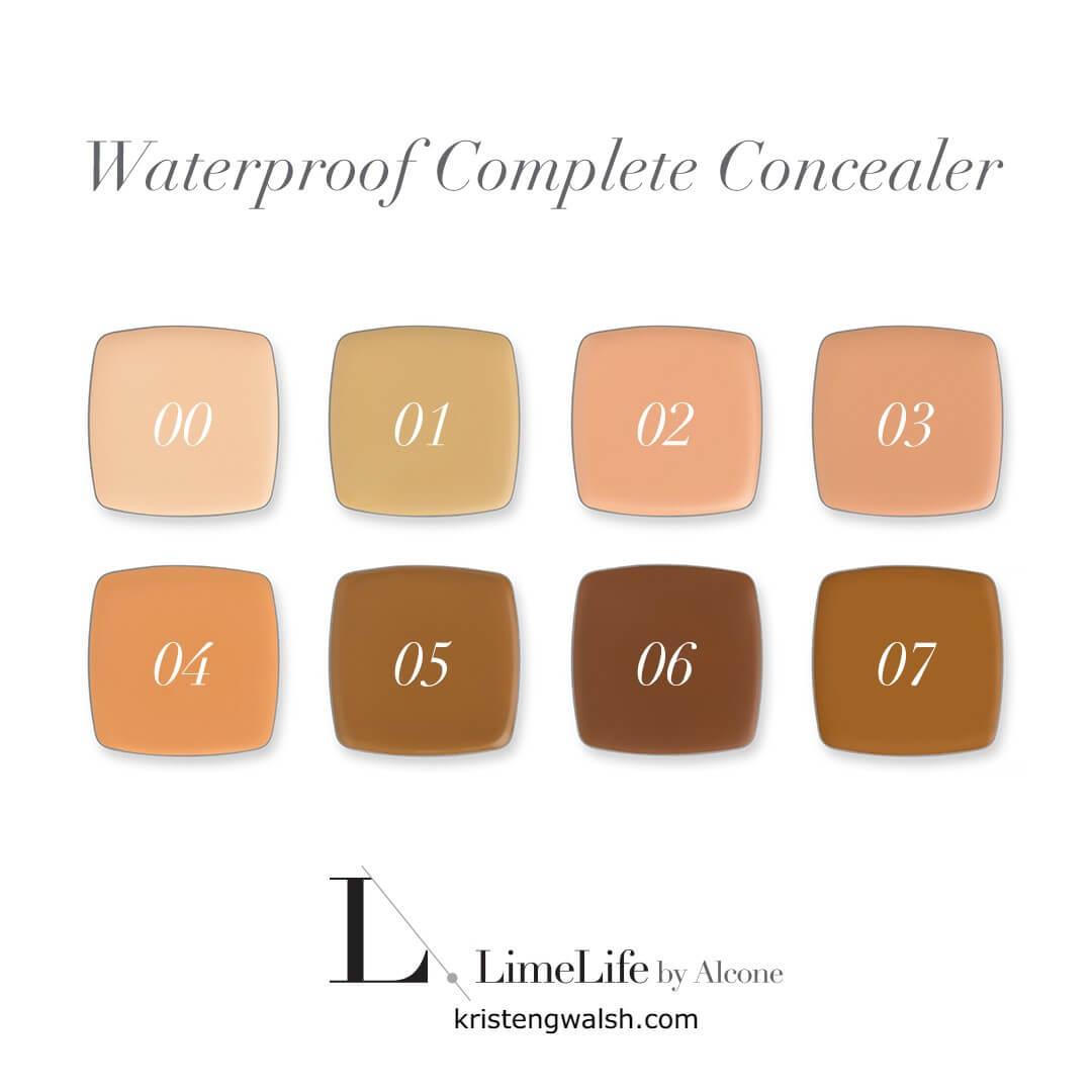 LimeLife Concealer Chart