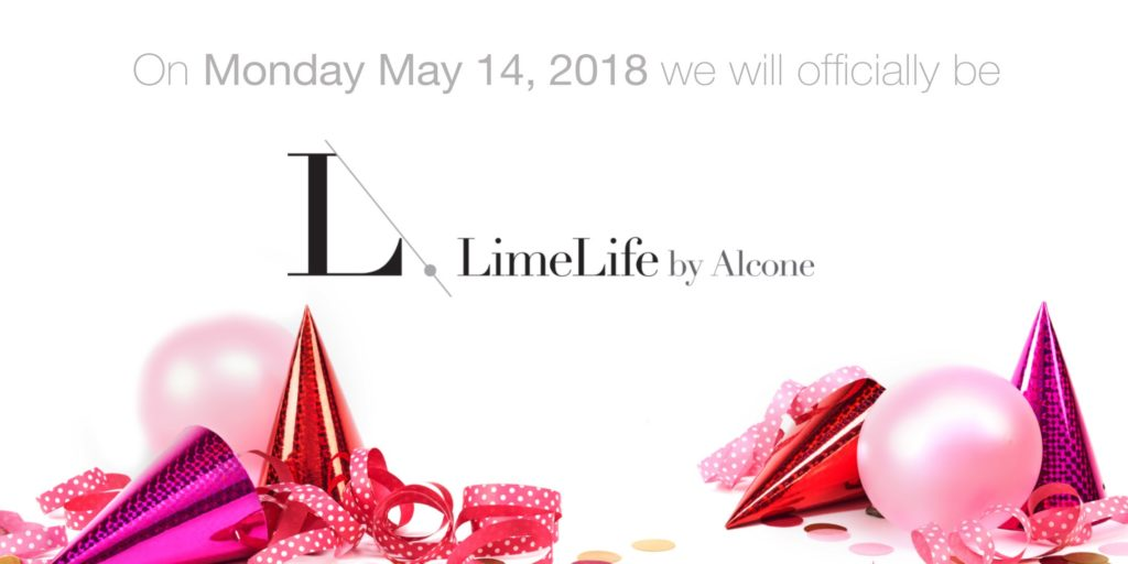 LimeLight by Alcone Name Change