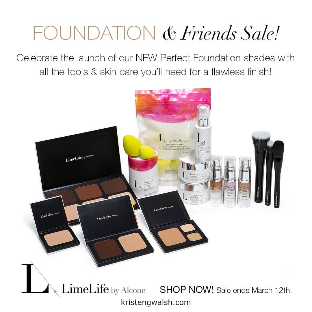 LimeLife Foundation Sale