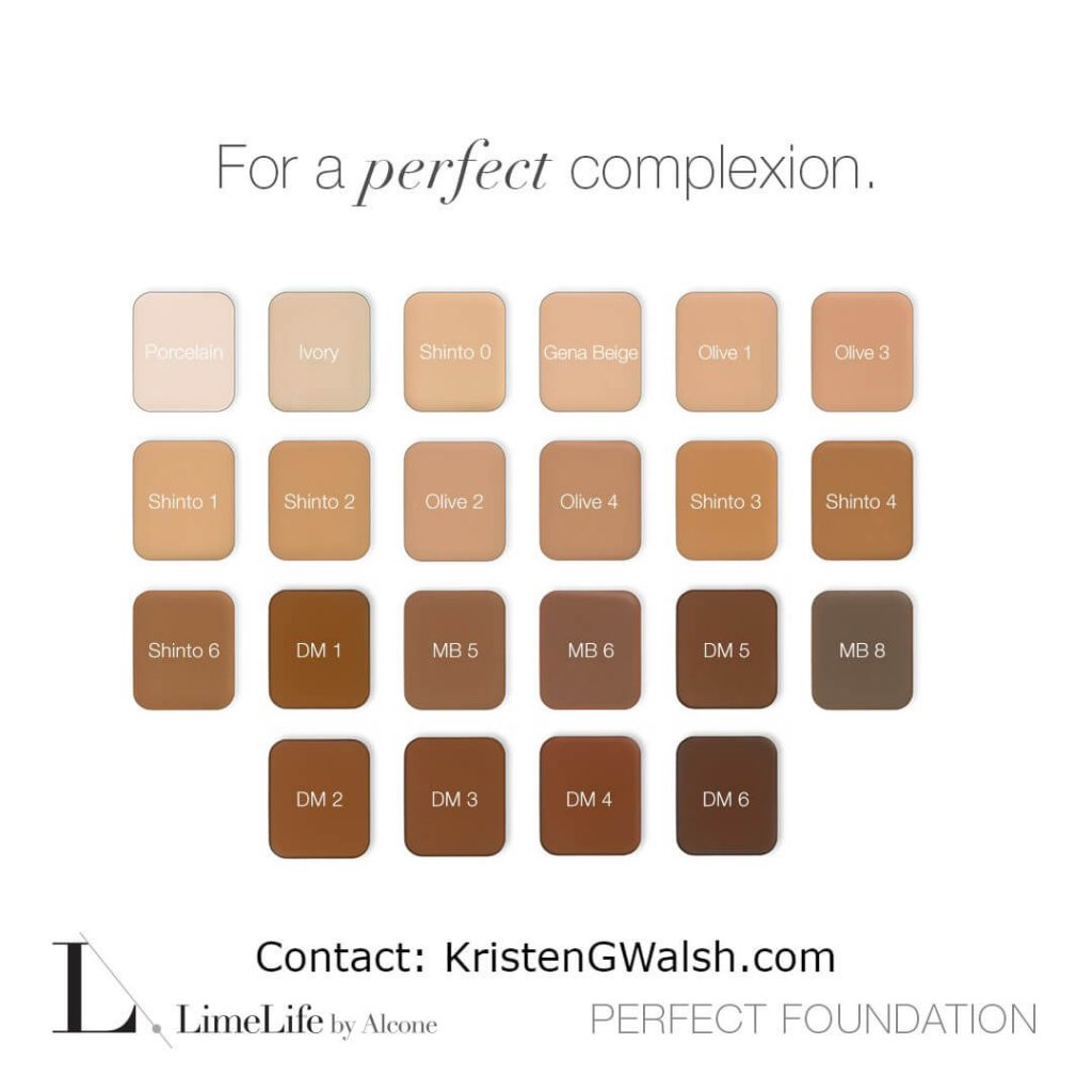 LimeLife Perfect Foundation