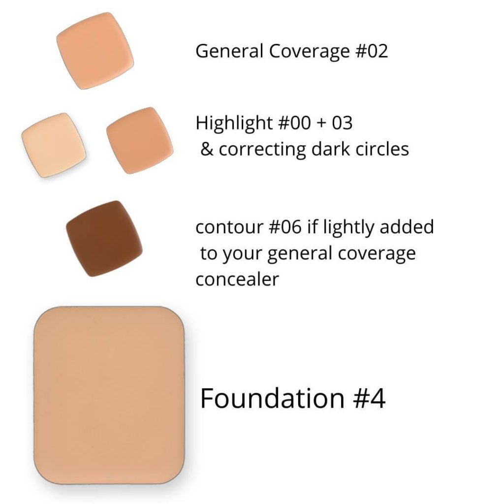 LimeLife Foundation Color 4